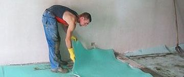 Vanbossel Luc BVBA - Eernegem - Akoestische vloerisolatie