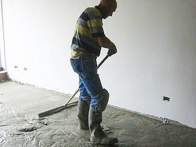 Chapewerken Luc Vanbossel - Thermische vloerisolatie